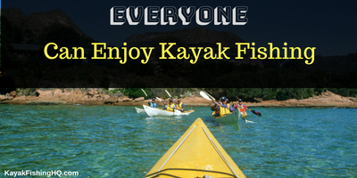 how to enjoy kayak fishing