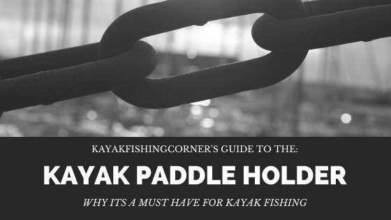 Kayak Paddle Holder