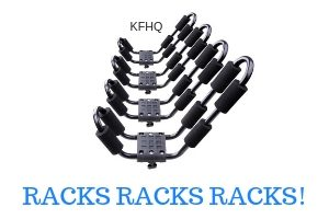 kayak fishing racks suv