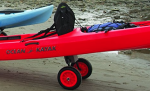 sit on top kayak trolley