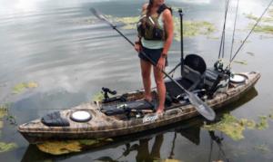 Kayak Cart for Kayak Fishing