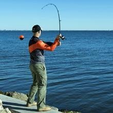 deeper fish finder casting