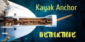 kayak anchor instructions