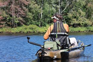 Fishing Kayak with Motor