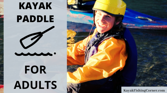 kayak paddle adults fun