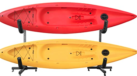 How to Install a Kayak Rack for Dock